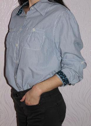 Рубашка в актуальную полоску