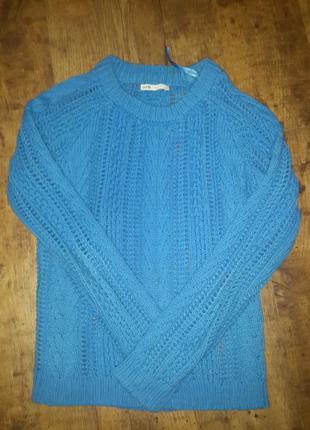 Крутой свитер oodji крупной вязки