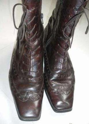 Ботинки полусапожки  натуральная кожа gabor.