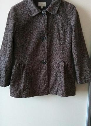 Пиджак из микро вильвета laura ashley