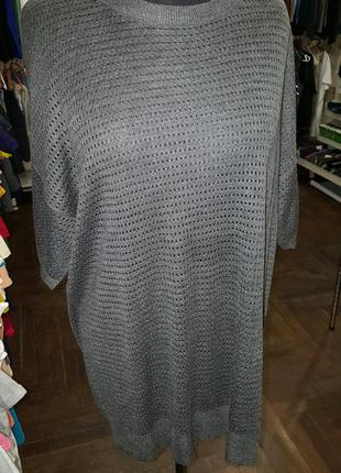 Джемпер легкая кофта с&а большой размер