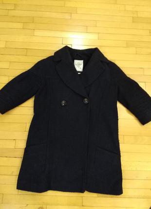 Пальто oversize pull and bear