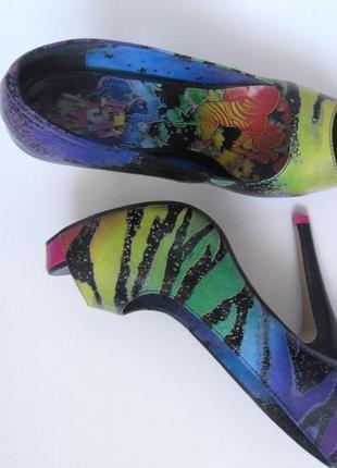 Туфли на шпильке iron fist