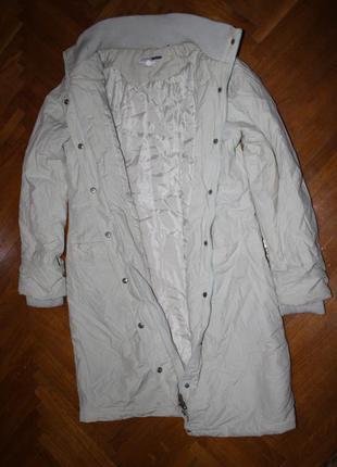 Деми куртка плащ пальто flashlights м-l