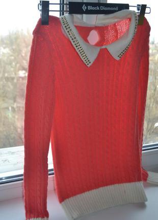 Parkhande коралловый свитер