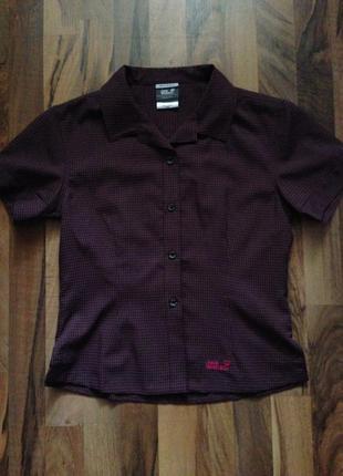 Рубашка, блуза, тениска, jack wolfskin, р. 36-38, новая!