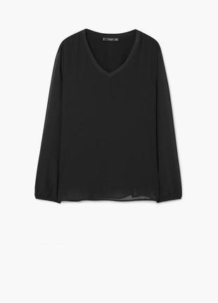 Блуза на подкладке