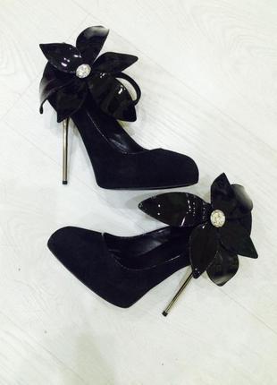 Туфли nando muzzi натуральный замш