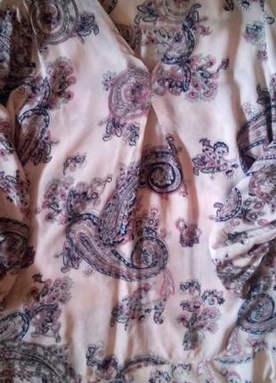 Легкая  блузочка в  орнамент