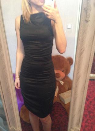 Черное вечернее платье van gils