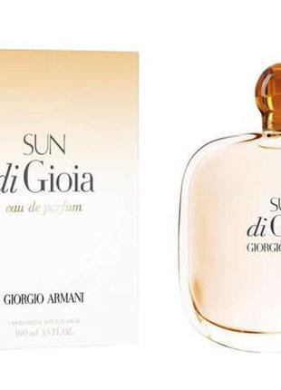 Парфюмированная вода sun di gioa giorgio armani 100 мл продам