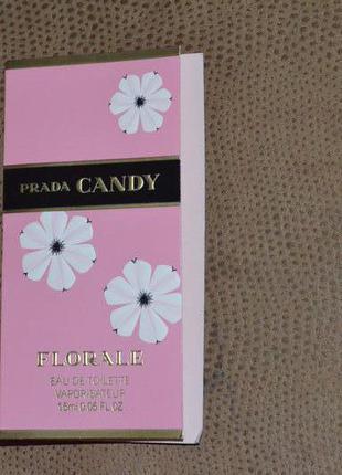 Prada candy florale пробники духов