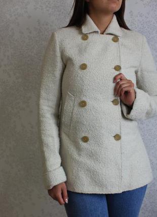 Пальто с шерстью альпаки, бренд janet d