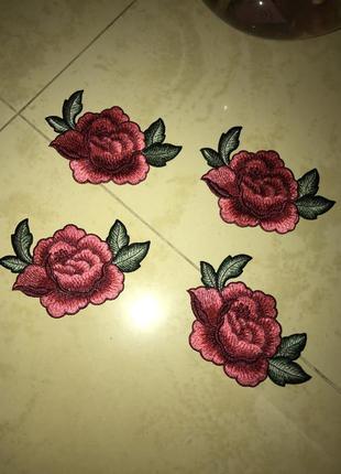 Патчи (нашивки) розы