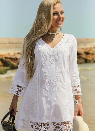 Туника пляжная indiano серия fresh cotton в наличии