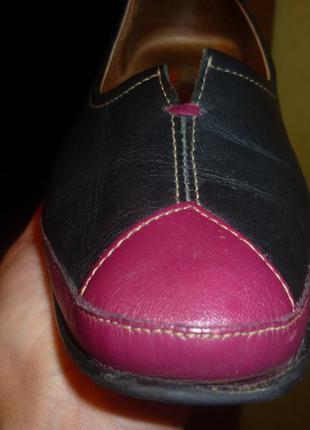 Очень комфортные кожаные туфли kiarflex как rieker райкер