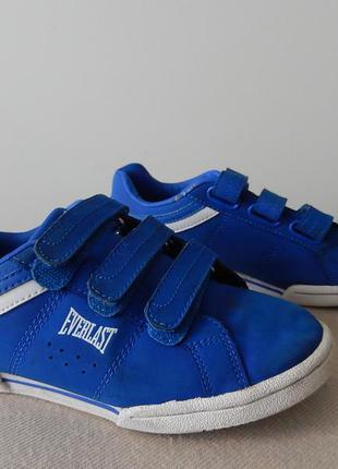 Фирменные, брендовые кеды «everlast»   33-34  размер