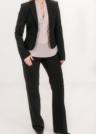 Деловой классический брючный костюм черный mexx с бирками