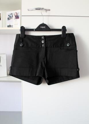 Черные шортики от new look