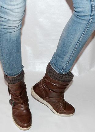 Ботинки 39 р geox италия кожа оригинал