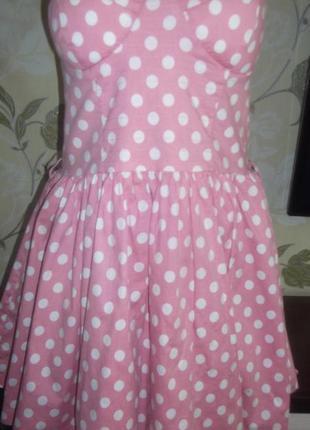 Яркое платье qedlondon! размер 14 l !