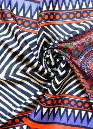 Яркий шарф в этно-стиле, индия,  доставка бесплатно. больше на моей страничке, заходите!