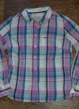 Крутая рубашка jack  wills 12 размер