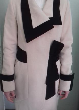 Демисезоне кашемірове пальто