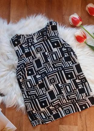 Блуза из искусственного шелка от атм