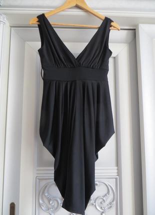 Маленькое черное вечернее платье (тяжелый материал)