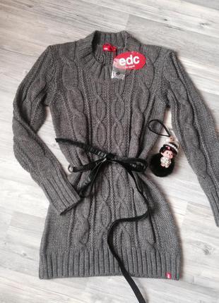 Вязаное платье esprit