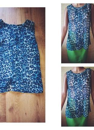 Тигровая блуза f&f