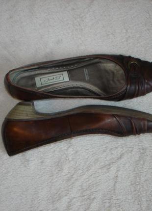 Кожаные туфли janet d