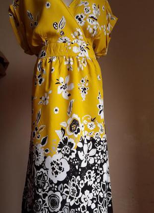 Красивенное платье миди george британия