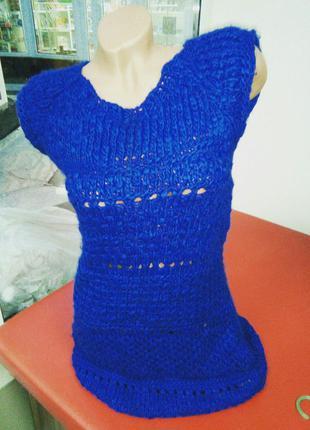 Супер классное вязаное платье zara