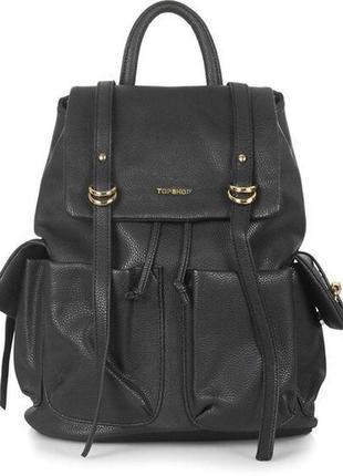 Рюкзак topshop (портфель, кожаный рюкзак)