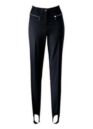 Модные брюки со штрипками треггинсы