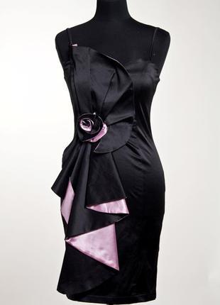 "Коктейльное платье  ""волан""."