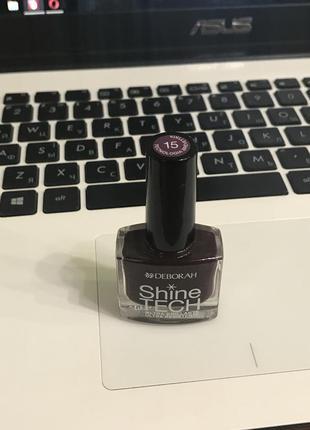 Модный лак для ногтей shine tech deborah.