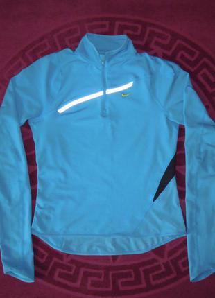 Спортивная кофта nike fit dry олимпийка для бега