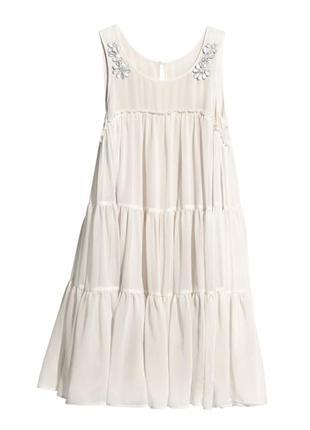 Новое нарядное очень красивое нежное платье h&m conscious /вечернее/коктейльное/выпускник платье