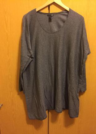 Длинный свитер от h&m