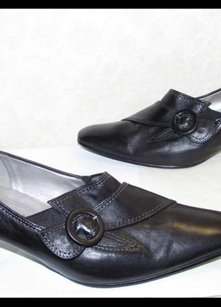 Туфли 100%натур кожа~gabor~австрия 38,5