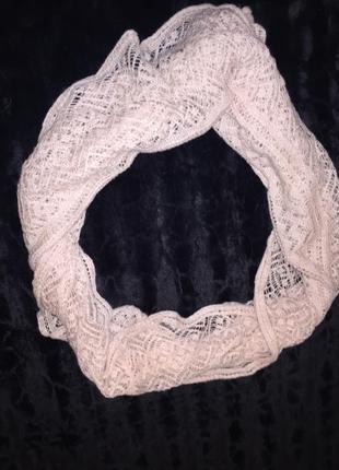 Вязаный шарф-хомут h&m