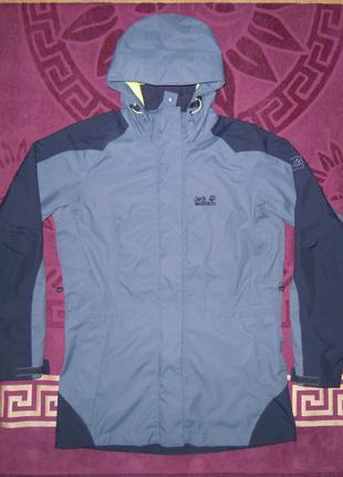 Курточка jack wolfskin на мембране осень зима gore tex texapore туристическая
