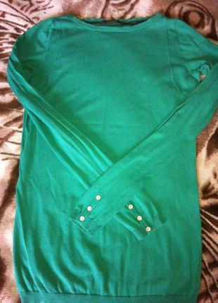 Клёвый зеленый свитерок esprit