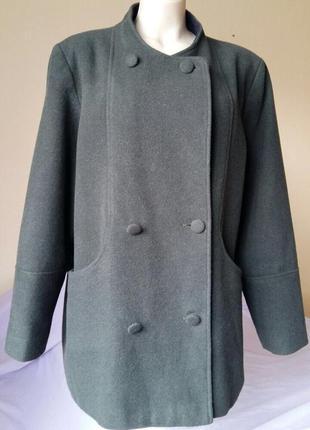 Доступно - пальто прямого кроя *ewm* 20 р. - 60 % шерсть
