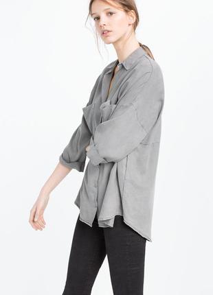 Блузка сорочка zara