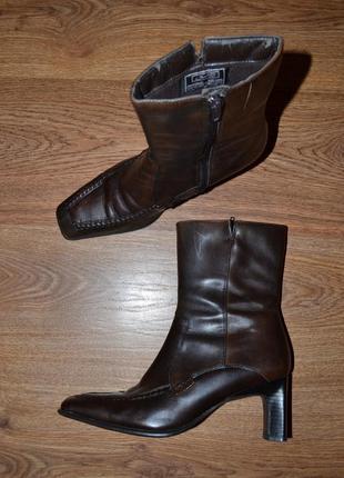 Р. 36 - 24,5 см. janet d германия. полусапоги, ботинки фирменные оригинал
