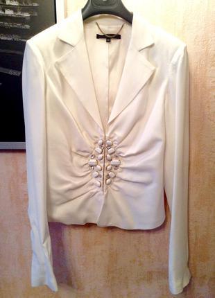 Шикарный белый пиджак